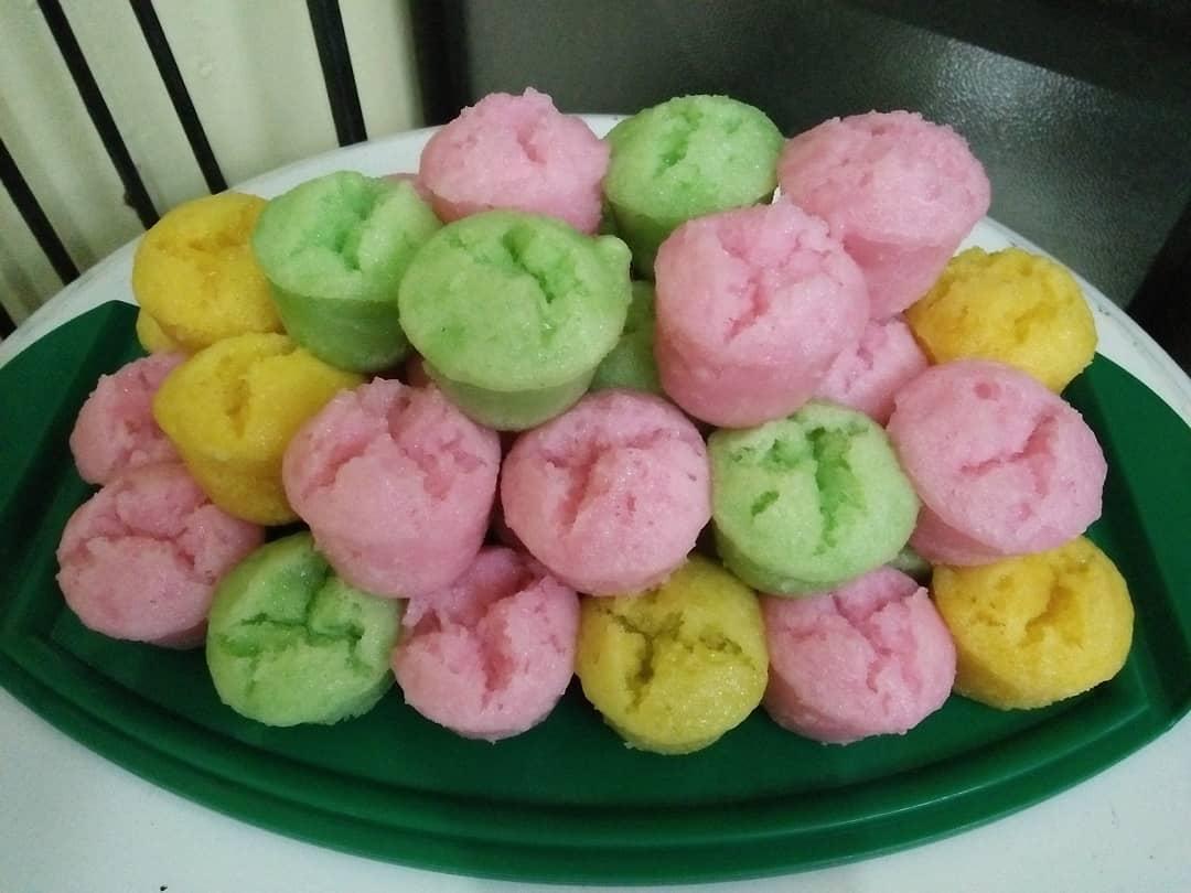 Cara Membuat Kue Apem Warna Warni yang Enak, Cantik dan Sederhana