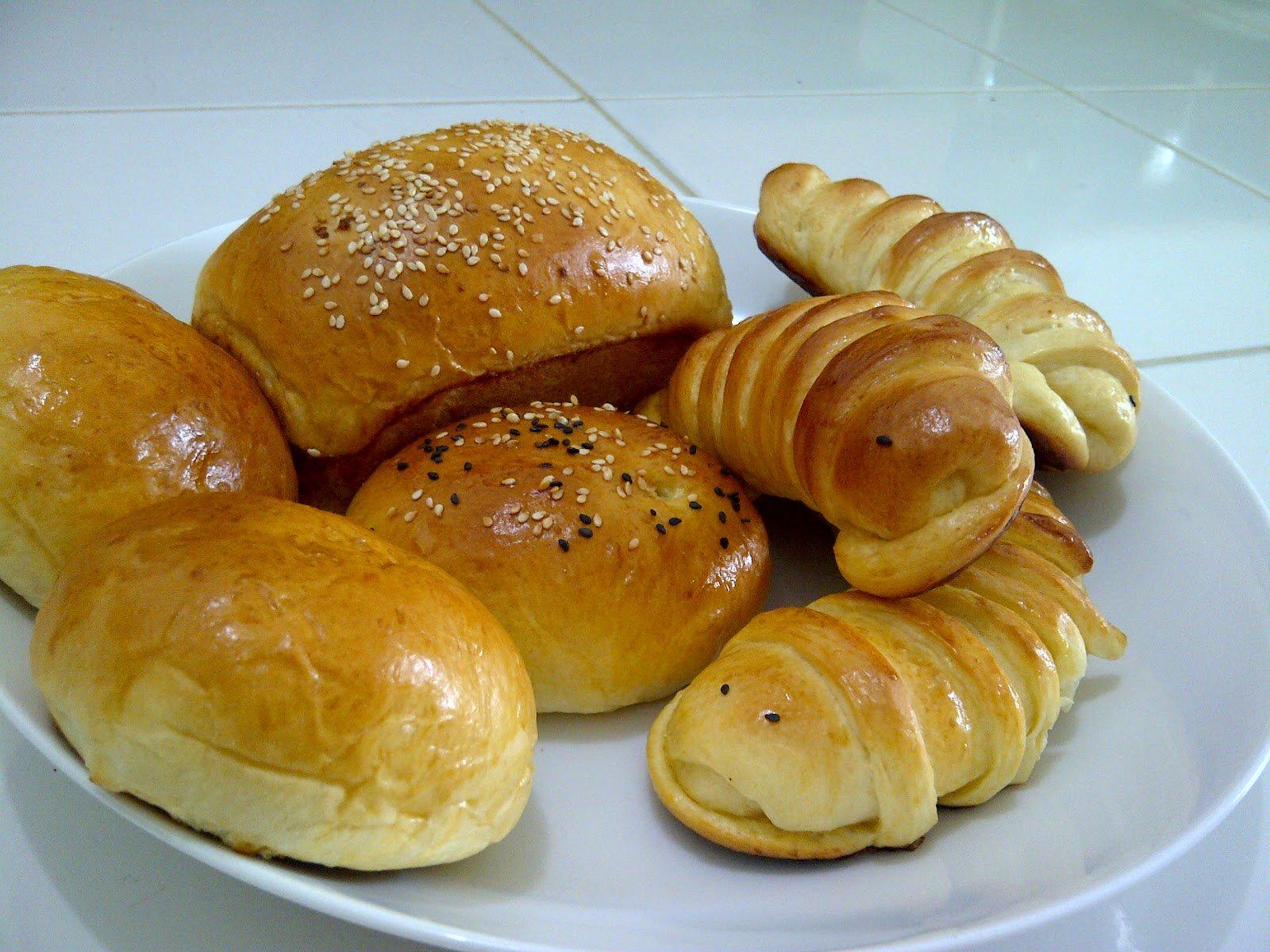 Cara Membuat Roti Kacang isi Selai