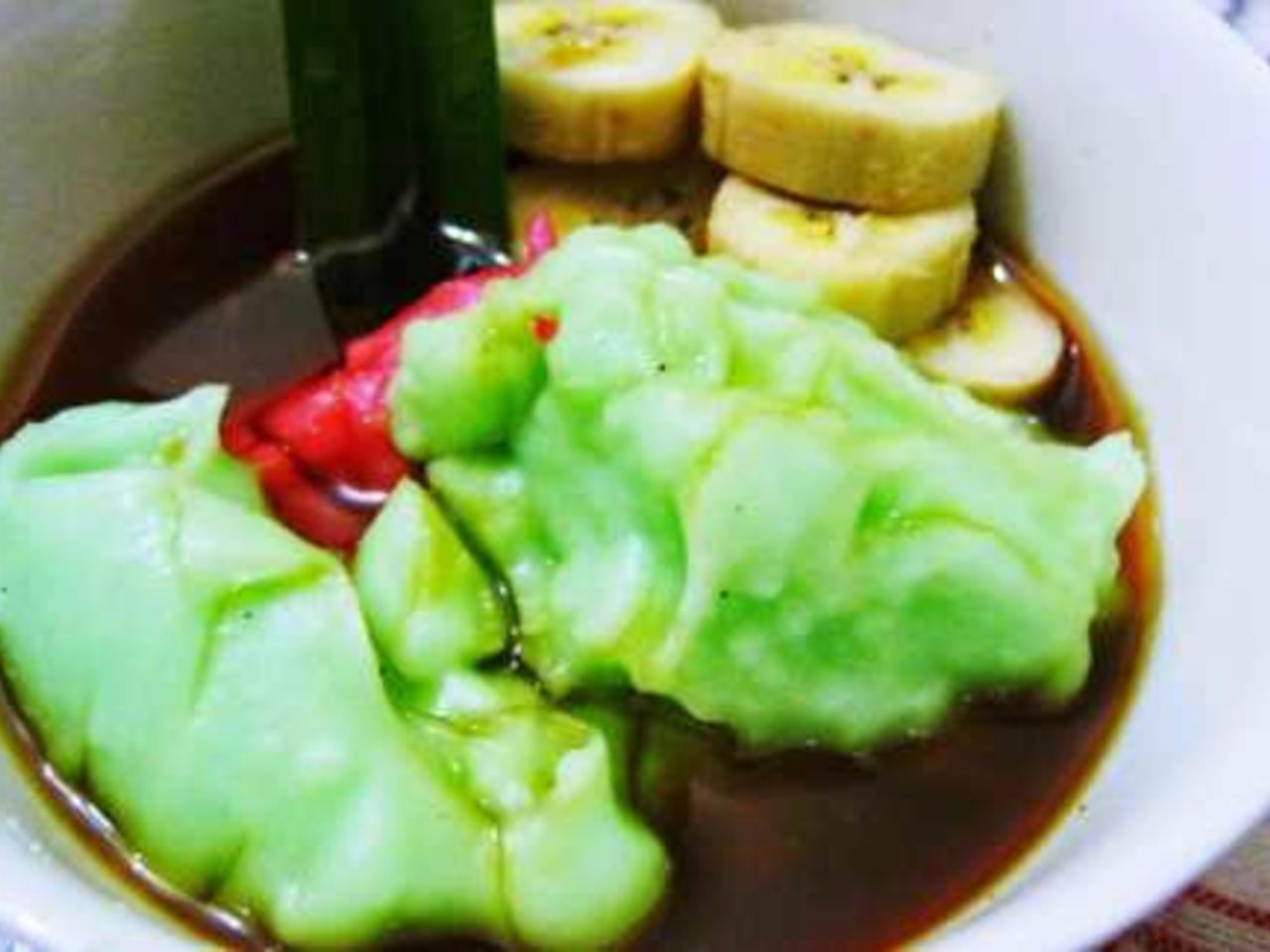 Resep Bubur Sumsum Hijau Pandan yang enak