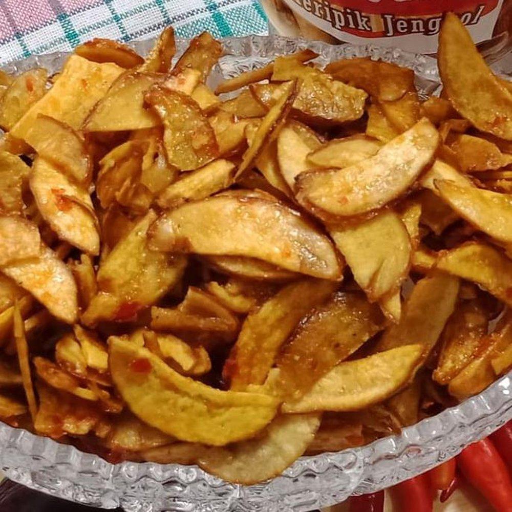 Keripik Jengkol Crispy Dengan Menggunakan Tepung Pilihan