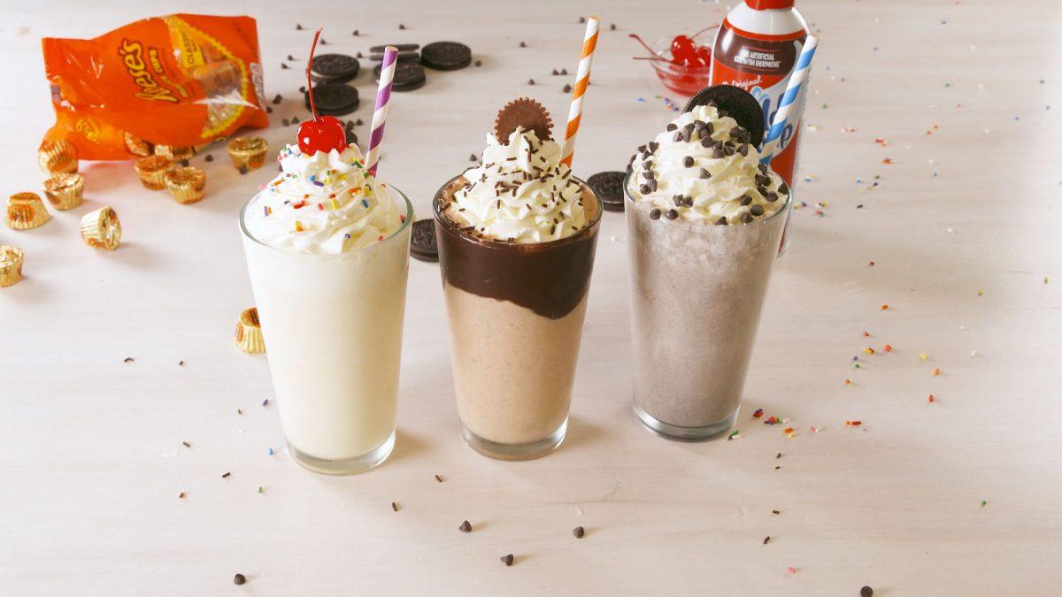 cara membuat milkshake tanpa blender yang mudah dibuat