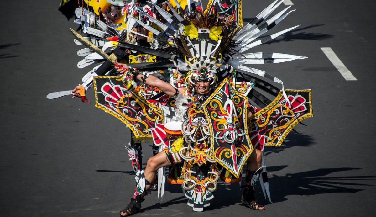 Kostum Karnaval Unik Sederhana