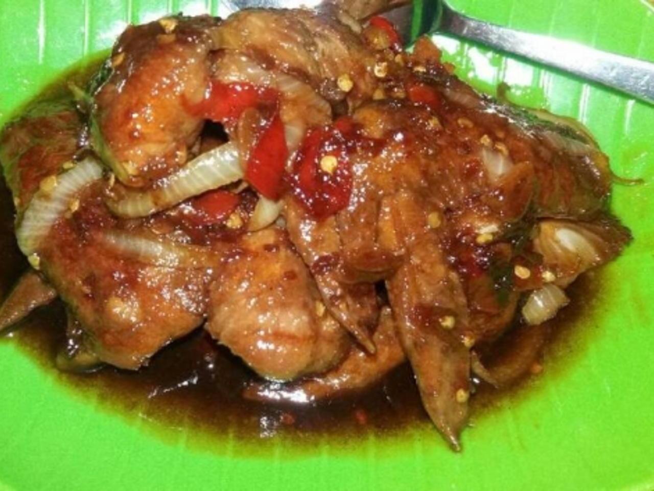 Resep Ayam Kecap Pedas Spesial