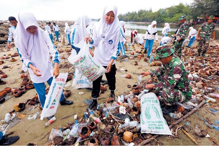 Penggunaan Plastik di Indonesia