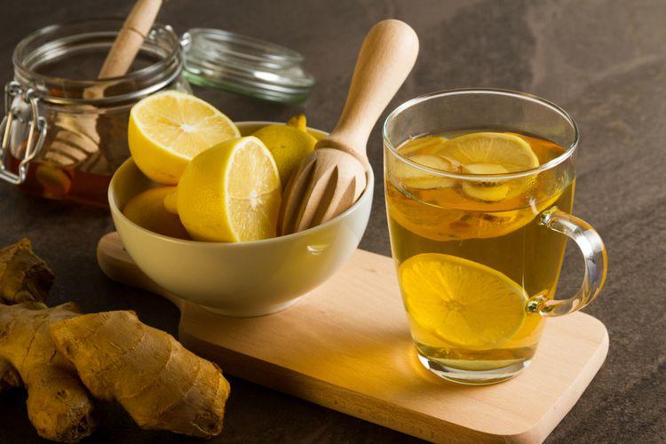 cara membuat jus lemon jahe