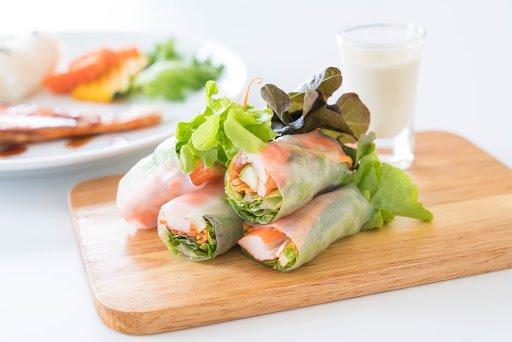 Spesial Cara Membuat Salad Sayur Roll Gampang dan Bikin Ngiler