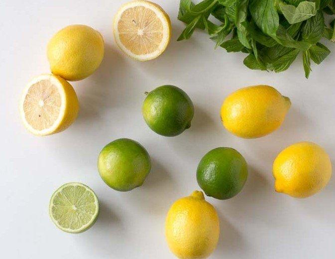 cara buat jus jeruk lemon