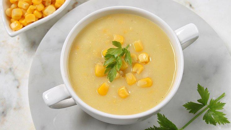 Resep Sup Jagung Telur Bening dan Krim