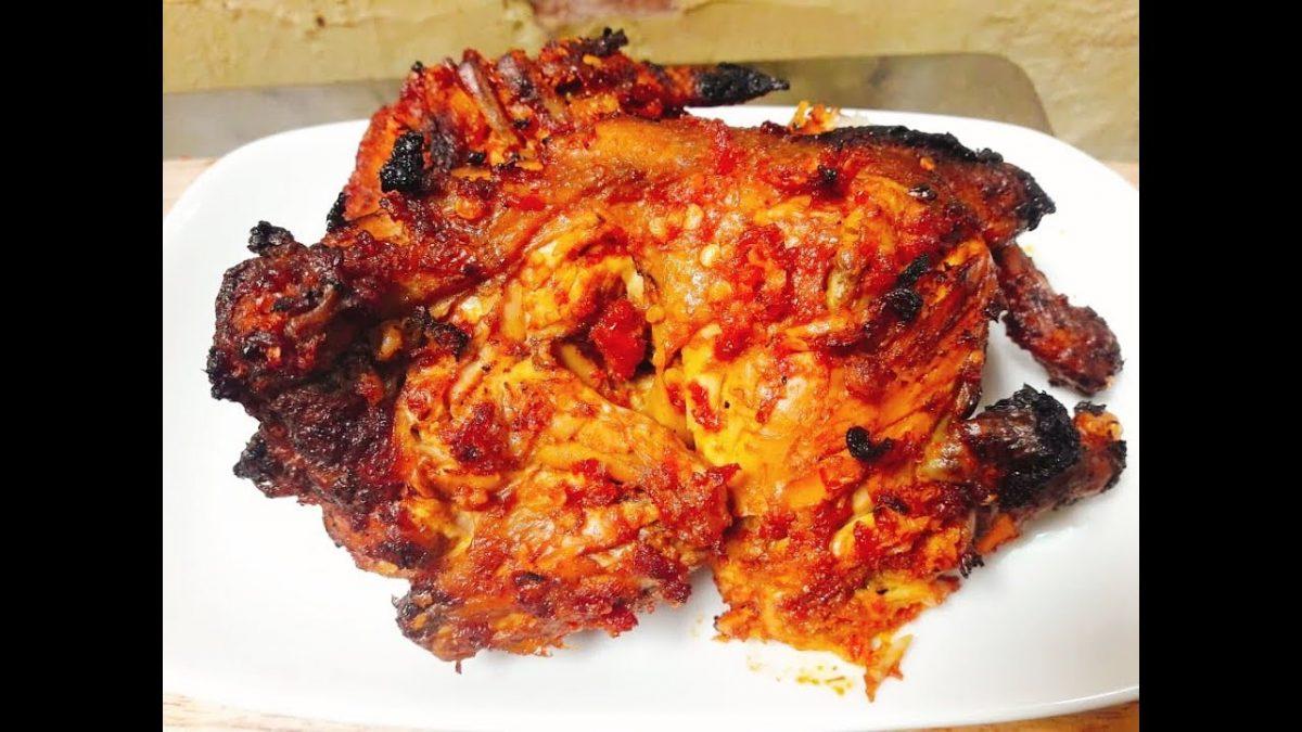 Resep Ayam Bakar Teflon Bumbu Rujak, Awas Nanti Ketagihan!