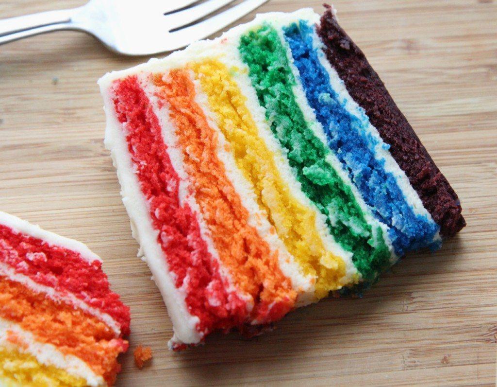 Resep Rainbow Cake Lembut Enak dan Sederhana
