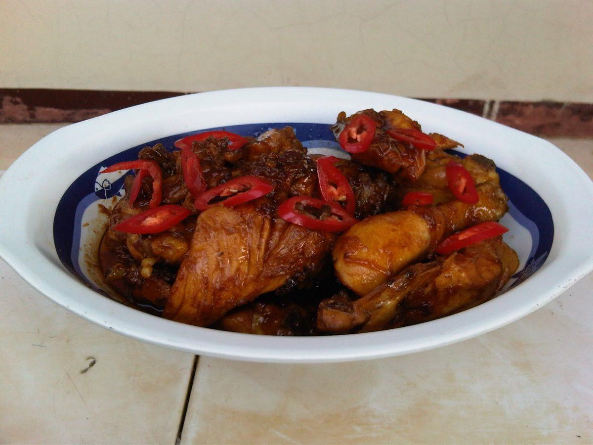 Cara Membuat Ayam Kecap Pedas